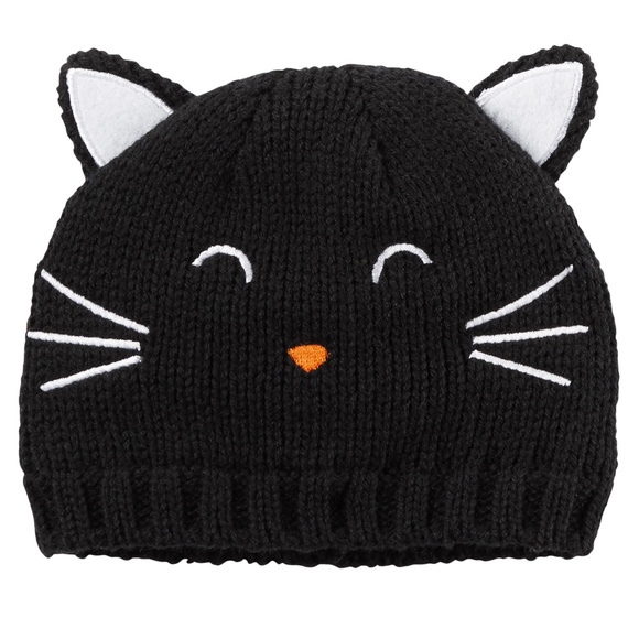 Carter's Other - Carters Baby Girl Newborn 3 Months Knit Kitty Hat